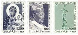 Vatican / Pope John Paul II / Sweden Post Stamps - Unused Stamps