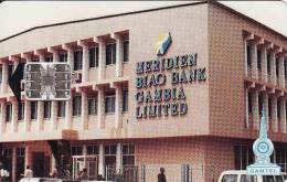 Gambie,  Meridien Biao Bank, Chip - Gambie