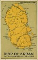 MAP OF ARRAN - HOLMES SERIES - Landkaarten