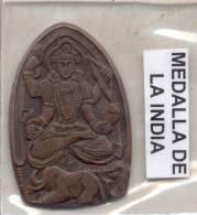 INDIA MEDAL - RARE MEDAGLIA MEDAILLE MEDALLA - Professionnels / De Société