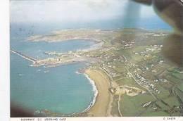 ALDERNEY LOOKING EAST.  AERIAL VIEW - Alderney