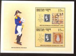 MNH BHUTAN # 915 : SOUVENIR SHEET STAMPS OLD STAMPS ; PENNY BLACK ; POSTAL HISTORY ; MECKLENBURG POSTMAN - Bhoutan