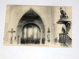 Carte Postale Ancienne :MORBECQUE  : Intérieur De L´Eglise - Otros Municipios