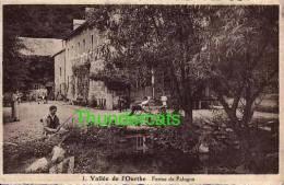 CPA VALLEE DE L'OURTHE FERME DE PALOGNE - Hamoir