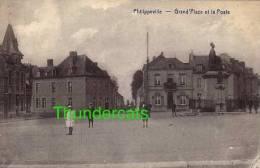 CPA PHILIPPEVILLE GRAND PLACE ET LA POSTE - Philippeville