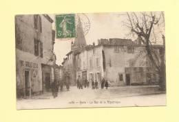 Berre - La Rue De La Republique - Francia