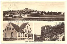 GERMANY - GRUSS Aus RUPPERTSECKEN - Gasthaus Zur Post Von Ph. Huy ++++ Vers Denver Colorado, USA, 1936 ++++ - Rockenhausen