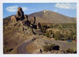 Espagne--TENERIFE-- Pico Del Teide Y Vista Parcial De Las Canadas((voitures),cpm N° 16 éd CT - Tenerife