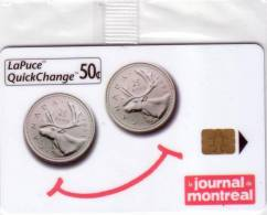 CANADA JOURNAL DE MONTREAL PRESS COIN PIECE 25 CENTS B30119 NSB MINT IN BLISTER 10$ - Timbres & Monnaies