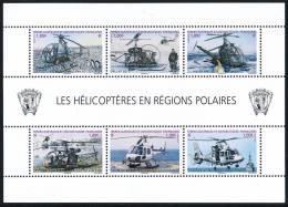 TAAF 2013 Helicopteres Block** - Blocks & Sheetlets