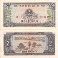 Viet Nam P-85, 2 Dong, 1980, Temple, Bridge - Vietnam