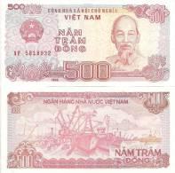 Viet Nam P-101,500 Dong, Ho Chi Minh / Fishing Fleet At Dock - Vietnam