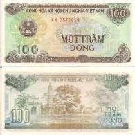 Viet Nam P-105a, 100 Dong, Temple, Pagoda - Vietnam