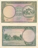 Viet Nam, South P-1a, 1 Dong, 1956  Temples - Vietnam