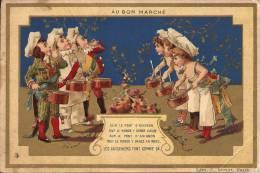 Image Publicitaire - AU BON MARCHÉ - Sur Le Pont D'Avignon... - Au Bon Marché