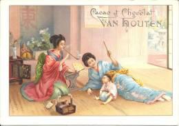 Image Publicitaire - Cacao Et Chocolat VAN HOUTEN - Van Houten