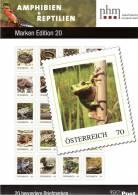 """AUSTRIA ÖSTERREICH 2012 Marken Edition 20 SK """" Amphibien Und Reptilienogie Amphibien""""  MNH / ** / POSTFRISCH - 1945-.... 2nd Republic"""