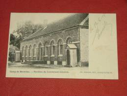 LEOPOLDSBURG - Camp De Beverloo  - Pavillon Du Lieutenant Général   -  1904  -  (2 Scans) - Leopoldsburg (Camp De Beverloo)