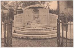 16951g MONUMENT Aux COMBATTANTS  - Gouy-lez-Piéton - 1934 - Courcelles