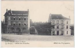 16968g HOTEL Des FAMILLES - HOTEL Des VOYAGEURS - La Hulpe - 1910 - La Hulpe