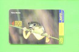 URUGUAY  -  Chip Phonecard As Scan - Telefoonkaarten