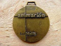 Medal, Animacion Animation Sol Melia - Unclassified