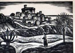 06 Le Vieux Bourg De CAGNES Bois Grave De Jupp Winter, Illustrateur - Cagnes-sur-Mer