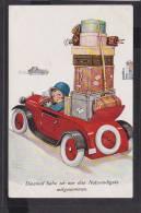C15  /  Automobil Auto Vehicules / John Wills Humor Reisen 1934 Ellwangen - Ansichtskarten