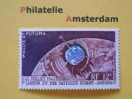 Wallis Et Futuna 1962, TELSTAR SATELLITE / SPACE RUIMTEVAART: Mi 201, **