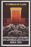 C15  /  Automobil Auto Vehicules  / Ausstellung Berlin 1939 / Audi , Daimler - Ansichtskarten