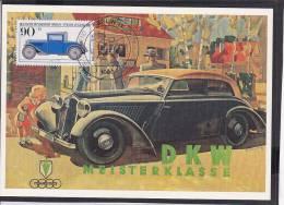 C15  /  Automobil Auto Vehicules  / Oldtimer / DKW Audi Meisterklasse 1982 Maximumkarte - Ansichtskarten