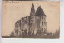"F 54890 CHAMBLEY, Schloss Chambley, 1915, Deutsche Feldpost 3.bayr.Landst.Inf.Batl. ""Augsburg"" - Chambley Bussieres"