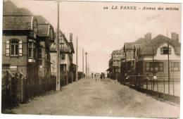 De Panne, La Panne, Avenue Des Artistes (pk8930) - De Panne