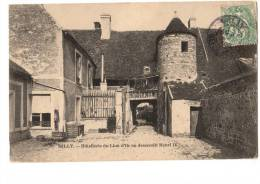 C  P  A---91-----MILLY LA FORET-----hotellerie Du Lion D´or Ou Descendit Henri 4..voir 2 Scans - Milly La Foret