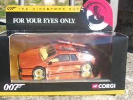 CORGI TOYS - SERIE 007 LOTUS ESPRIT TURBO Serie Oro AVEC SA  BOITE  Scala 1/36 - Corgi Toys