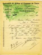 86 - MIREBEAU. ARSENE FRANCOIS - SPECIALITE De GRAINS & POMMES De TERRE - Agriculture