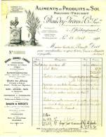 85 - L'HERBERGEMENT. - BAUDRY - TRICHET - ALIMENTS ET PRODUITS DU SOL - Agriculture