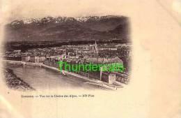 CPA 38 GRENOBLE  VUE SUR LA CHAINE DES ALPES - Grenoble