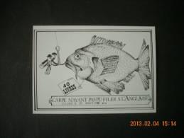 SN  713   ULCOT  LA PECHE DE HENRI JARRIAULT        DESSIN  DE  LEB  1987 - Francia