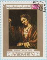 1969 - YEMEN - Y&T 89C - Rembrandt Harmenszoon Van Rijn (1606-1669) - Yemen