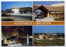 Hongrie--KESZTHELY-BALATON---Castrum Camping --Vues Diverses, Voitures,--Hongrie  Pour France - Hongrie