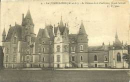 LA JUMELLIERE   - LE CHATEAU DE LA FAULTRIERE   FACADE LATERALE  4 - France