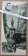"Brochure ""Erbach Im Odenwald, Germany"" - Vieux Papiers"