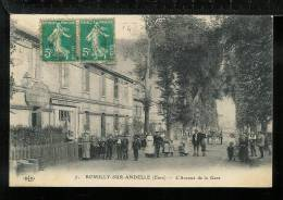 ROMILLY-SUR-ANDELLE - L'Avenue De La Gare - Francia