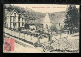 ROMILLY-SUR-ANDELLE - L''Eglise Et Le Presbytère - Otros Municipios