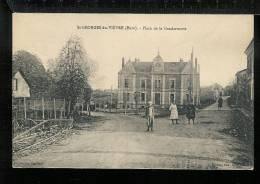 SAINT GEORGES DU VIEVRE - Place De La Gendarmerie - France