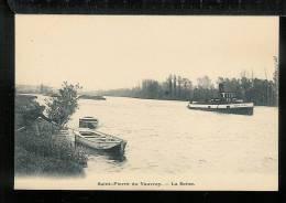 SAINT PIERRE DU VAUVRAY - La Seine - France