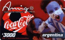 Lote TT12, Colombia, Tarjetas Telefonicas, Phone Cards, Coca Cola, Argentina, Coke, Futbol, Used - Colombia