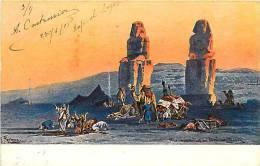 Egypte - Ref A173 - Dessin Illustrateur -carte Bon Etat - Egypt