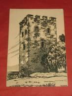 """STANSSTAD - La Tour Du Guet  D'après Th. Barth   - """" La Suisse Croquis D'artistes """"  -  1908 - (2 Scans) - NW Nidwald"""